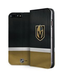 Vegas Golden Knights Jersey iPhone 8 Plus Folio Case