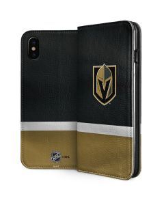 Vegas Golden Knights Jersey iPhone X Folio Case