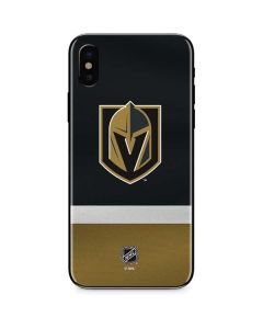 Vegas Golden Knights Jersey iPhone X Skin