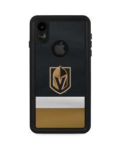 Vegas Golden Knights Jersey iPhone XR Waterproof Case