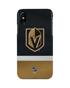 Vegas Golden Knights Jersey iPhone XS Max Lite Case