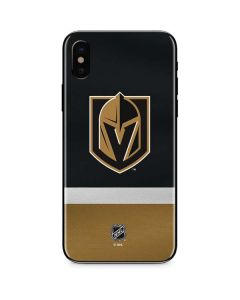 Vegas Golden Knights Jersey iPhone XS Skin