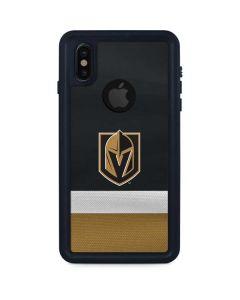 Vegas Golden Knights Jersey iPhone XS Waterproof Case