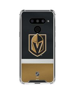 Vegas Golden Knights Jersey LG V50 ThinQ Clear Case
