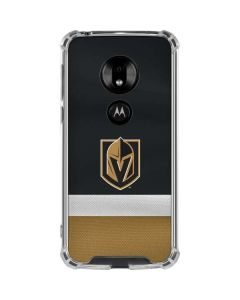 Vegas Golden Knights Jersey Moto G7 Play Clear Case