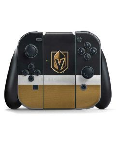 Vegas Golden Knights Jersey Nintendo Switch Joy Con Controller Skin