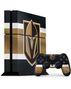Vegas Golden Knights Jersey PS4 Console and Controller Bundle Skin