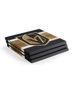 Vegas Golden Knights Jersey PS4 Pro Console Skin