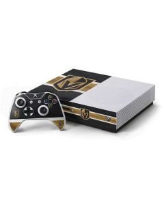 Vegas Golden Knights Jersey Xbox One S Console and Controller Bundle Skin