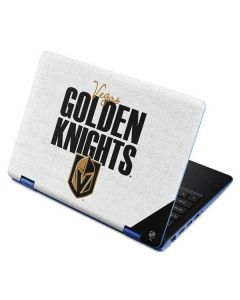 Vegas Golden Knights Script Aspire R11 11.6in Skin