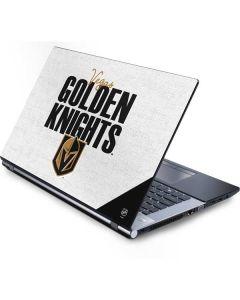 Vegas Golden Knights Script Generic Laptop Skin