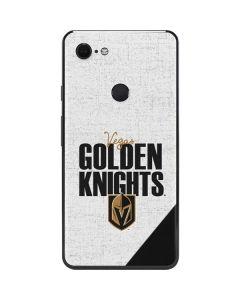 Vegas Golden Knights Script Google Pixel 3 XL Skin
