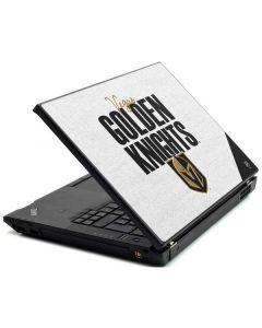 Vegas Golden Knights Script Lenovo T420 Skin