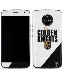 Vegas Golden Knights Script Moto X4 Skin