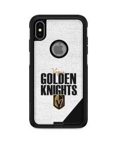 Vegas Golden Knights Script Otterbox Commuter iPhone Skin
