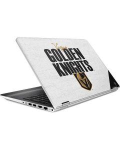 Vegas Golden Knights Script HP Pavilion Skin