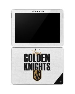 Vegas Golden Knights Script Surface Go Skin