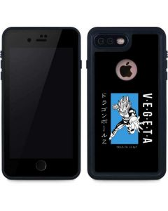 Vegeta Combat iPhone 8 Plus Waterproof Case