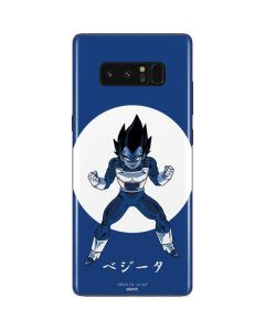 Vegeta Monochrome Galaxy Note 8 Skin