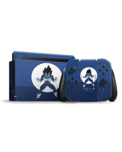 Vegeta Monochrome Nintendo Switch Bundle Skin