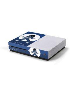 Vegeta Monochrome Xbox One S Console Skin
