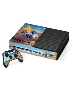 Vegeta Power Punch Xbox One Console and Controller Bundle Skin