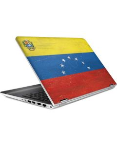 Venezuela Flag Distressed HP Pavilion Skin