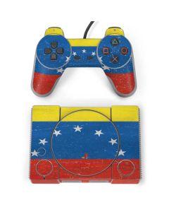 Venezuela Flag Distressed PlayStation Classic Bundle Skin