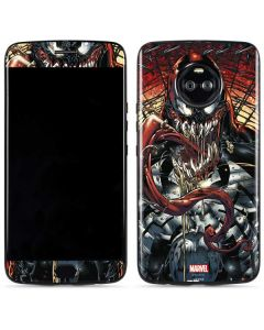 Venom Shows His Pretty Smile Moto X4 Skin