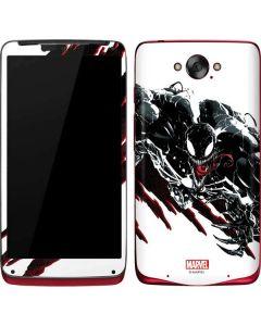 Venom Slashes Motorola Droid Skin