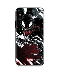 Venom Slashes iPhone X Skin