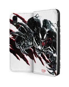 Venom Slashes iPhone XR Folio Case