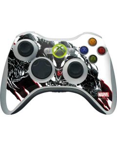 Venom Slashes Xbox 360 Wireless Controller Skin