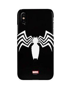 Venom Symbiote Symbol iPhone XS Max Lite Case