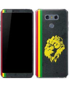 Vertical Banner - Lion of Judah LG G6 Skin