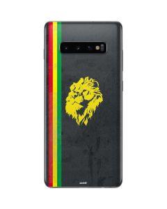 Vertical Banner - Lion of Judah Galaxy S10 Plus Skin