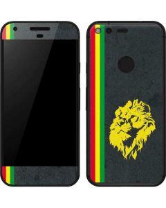 Vertical Banner - Lion of Judah Google Pixel Skin
