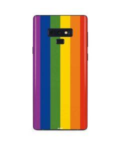 Vertical Rainbow Flag Galaxy Note 9 Skin