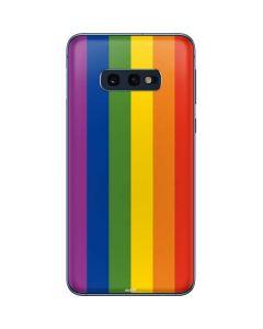 Vertical Rainbow Flag Galaxy S10e Skin