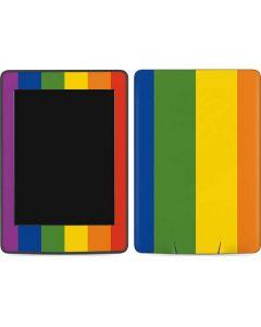 Vertical Rainbow Flag Amazon Kindle Skin