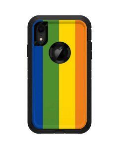 Vertical Rainbow Flag Otterbox Defender iPhone Skin