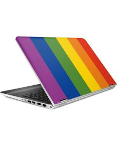Vertical Rainbow Flag HP Pavilion Skin