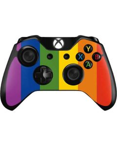 Vertical Rainbow Flag Xbox One Controller Skin