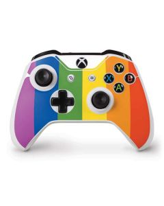 Vertical Rainbow Flag Xbox One S Controller Skin