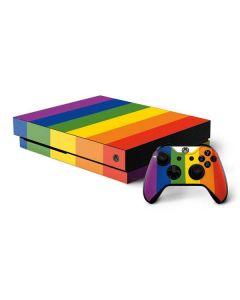 Vertical Rainbow Flag Xbox One X Bundle Skin