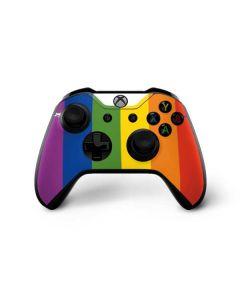 Vertical Rainbow Flag Xbox One X Controller Skin