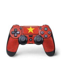 Vietnam Flag Distressed PS4 Pro/Slim Controller Skin