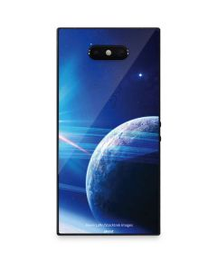 View of a Planet as it Looms in Close Orbit and with Rings Razer Phone 2 Skin