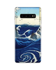 View of the Naruto whirlpools at Awa Galaxy S10 Plus Skin