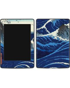 View of the Naruto whirlpools at Awa Amazon Kindle Skin